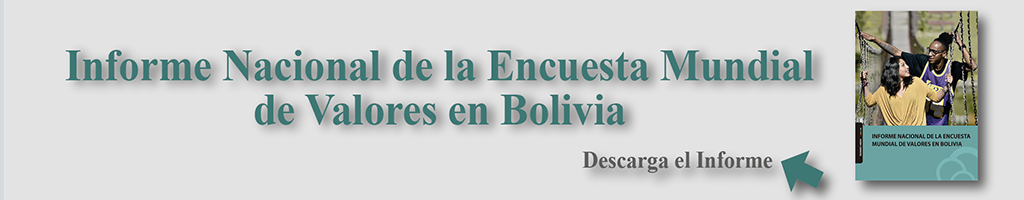 Informe Nacional de la Encuesta Mundial de Valores en Bolivia