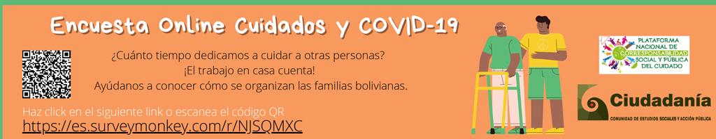 Encuesta online Cuidados y Covid-19