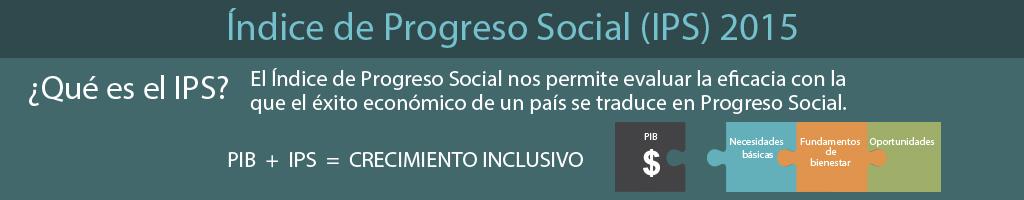 ÍNDICE DE PROGRESO SOCIAL (IPS) 2015